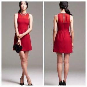 Banana Republic Red Sheath A-line Dress